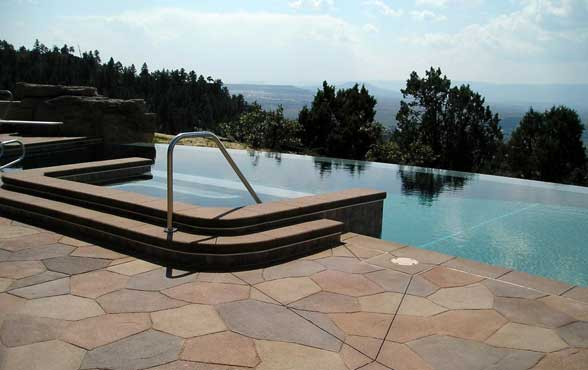 Stamped Concrete Pool Deck | Pool Deck Resurfacing Riverside